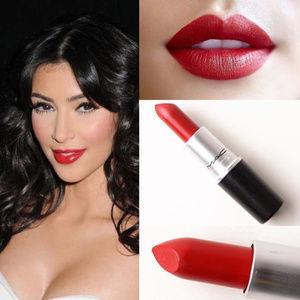 "NIB MAC ""RUSSIAN RED"" Matte Lipstick Iconic!"